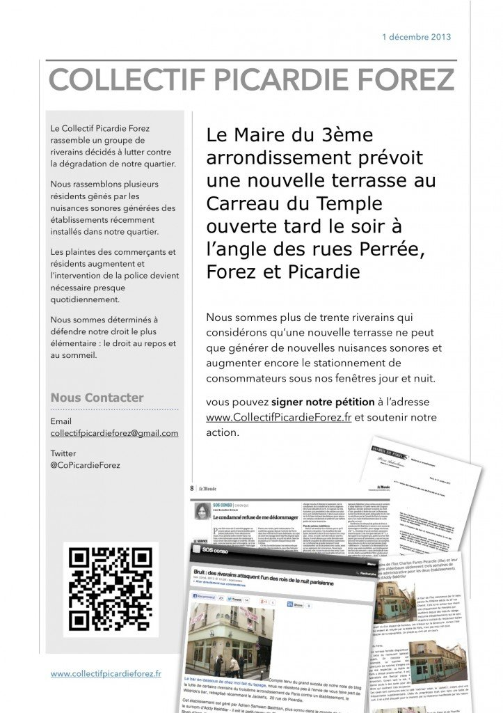 2013 01 12 Collectif Picardie Forez Flyer